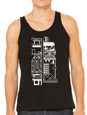 Men's Black Tank Top